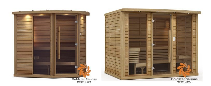Get a Goldstar Sauna today!  Excellent quality AND fast shipping!